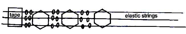 beads placement Lotus Bead Pattern ~ for making Oriental Lotus Bead Bracelets