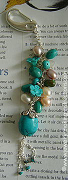 jean jewelry 1 Make Beautiful Turquoise Jean Jewelry