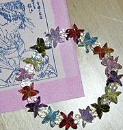 lotus crystal bracelet sm Lotus Bead Pattern ~ for making Oriental Lotus Bead Bracelets