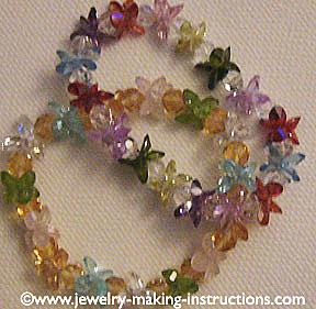 two lotus crystal bracelets/Lotus Crystal Bracelets
