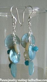 sea shell earrings/Sea Shell Earrings
