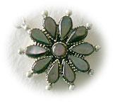 Enamel Flower Charm