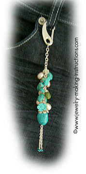 turquoise jeans accessory Make Beautiful Turquoise Jean Jewelry