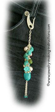 turquoise jean accessory/Turquoise Jean Accessory