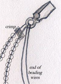attaching clasps/How To Attach A Clasp