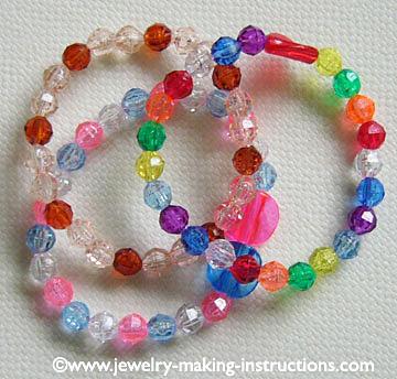 children bracelets/Jewelry Making Parties