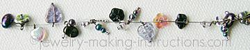 glass beads bracelet layout/Glass Beads Layout