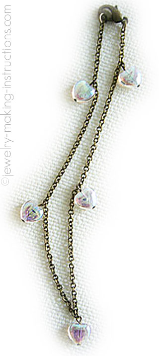 hearts anklet/An Anklet of Hearts